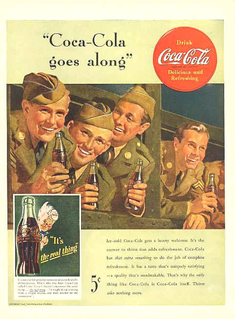 Coca-Cola Goes Along
