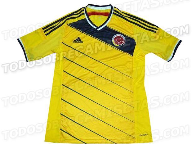 nueva camiseta de la selección de Colombia