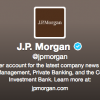 Banco JPMorgan en Twitter